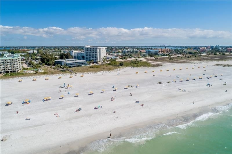 Aerial View - Treasure Island, FL