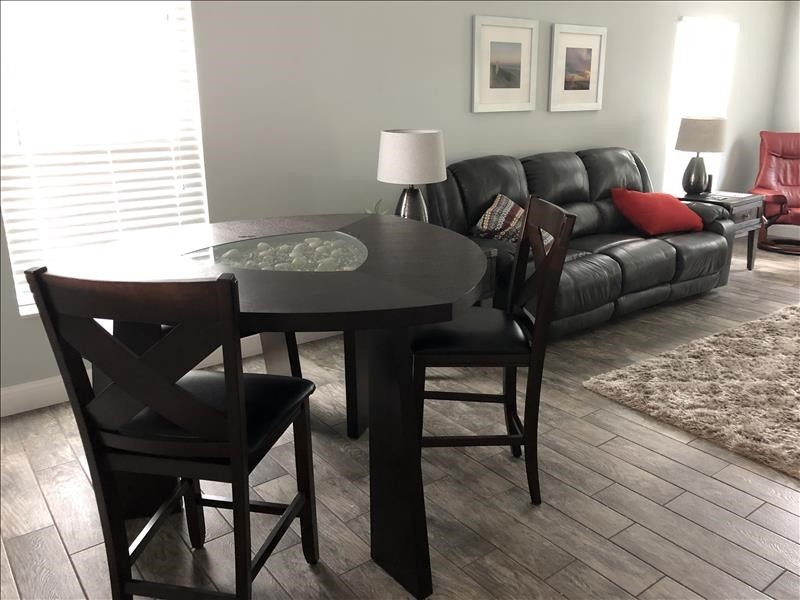 open dining and living room combo