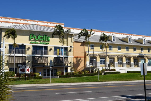 Shop next door for groceries, Publix grocery store