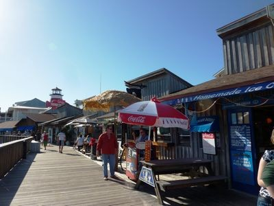 John's Pass Village boardwalk